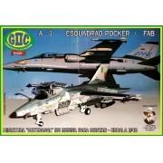 A-1 AMX (Esquadrão Pocker da FAB) - 1/48 - GIIC
