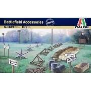 Acessórios militares de campo - 1/72 - Italeri 6049