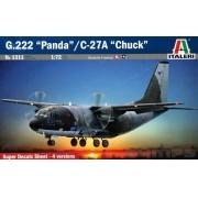 """Aeritalia G-222 """"Panda""""/C-27A """"Chuck"""" - 1/72 - Italeri 1311"""