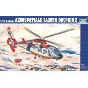 Aerospatiale SA365N Dauphin 2 - 1/48 - Trumpeter 02816