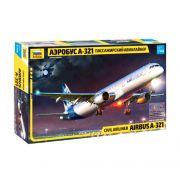 Airbus A-321 - 1/144 - Zvezda 7017
