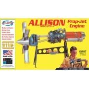 Allison Prop Jet 501-D13 Engine - 1/10 - Atlantis H1551