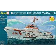 Barco de busca e salvamento Hermann Marwede - 1/72 - Revell 05220