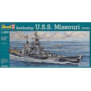 Battleship U.S.S. Missouri (WWII) - 1/1200 - Revell 05128