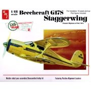 Beechcraft G17S Staggerwing - 1/48 - AMT 886