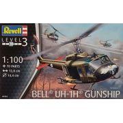 Bell UH-1H Gunship - 1/100 - Revell 04983