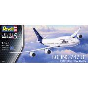 Boeing 747-8 Lufthansa New Livery - 1/144 - Revell 03891
