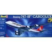 Boeing 747-8F Cargolux - 1/144 - Revell 04885