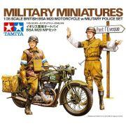 British BSA M20 Motorcycle with Military Police set - 1/35 - Tamiya 35316