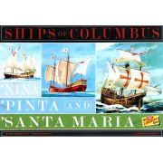 Caravelas de Colombo (Santa Maria, Pinta e Nina) - 1/144 - Lindberg HL223