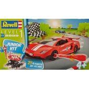 Carro de corrida vermelho - 1/20 - Revell 00800