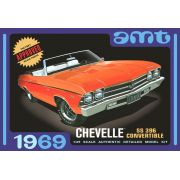 Chevelle SS 396 Convertible 1969 - 1/25 - AMT 823