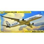 Civil Airliner Airbus A350-1000 - 1/144 - Zvezda 7020