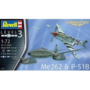 Combat Set Me262 & P-51B - 1/72 - Revell 03711