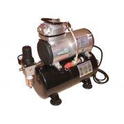 Compressor de ar de um cilindro com tanque - Fengda AS-186