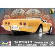 Corvette Roadster 2 em 1 1968 - 1/25 - Revell 85-2544