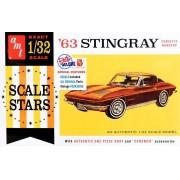 Corvette Stingray 1963 - 1/32 - AMT 1112