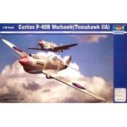 Curtiss P-40B Warhawk (Tomahawk MKIIA) - 1/48 - Trumpeter 02807
