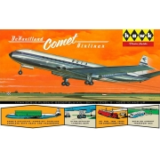 De Havilland Comet - 1/144 - Hawk HL512