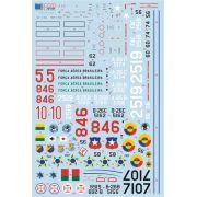 Decalque A-26 Invader B e C FAB 1/72 - FCM 72031
