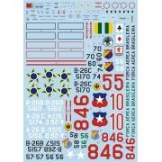 Decalque A-26B/C Invader 1/48 - FCM 48-056