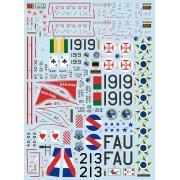 Decalque F-80/TF-33 1/48 - FCM 48-052