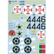 Decalque Republic P-47D 1/32 - FCM 32-007