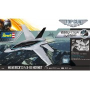 "Easy-click Maverick's F/A-18 Hornet ""Top Gun: Maverick"" - 1/72 - Revell 04965"