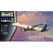 Embraer 190 Lufthansa New Livery - 1/144 - Revell 03883