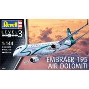 Embraer 195 Air Dolomiti - 1/144 - Revell 04884