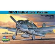 F6F-3 Hellcat Late Version - 1/48 - HobbyBoss 80359