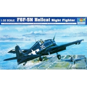 F6F-5N Hellcat Night Fighter - 1/32 - Trumpeter 02259