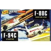 F-80C e F-94C - 1/48 - Lindberg HL509