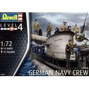 Figuras de Marinheiros Alemães da Segunda Guerra Mundial - 1/72 - Revell 02525