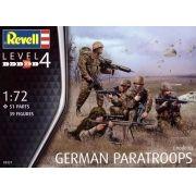 Figuras de Paraquedistas Alemães (modernos) - 1/72 - Revell 02521