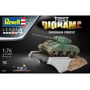 First Diorama Set - Sherman Firefly - 1/76 - Revell 03299