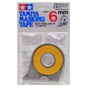Fita adesiva para máscara de pintura (masking tape) 6 mm - Tamiya 87030
