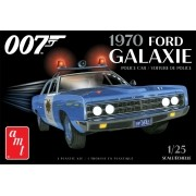 Ford Galaxie 1970 Police Car (James Bond) - 1/25 - AMT 1172M