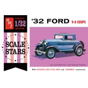 Ford V-8 Coupe 1932 Scale Stars - 1/32 - AMT 1181