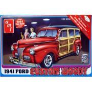 Ford Woody Custom 1941 - 1/25 - AMT 906