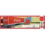 Fruehauf Beaded Van Semi Trailer (Coca-Cola) - NÃO INCLUI CAVALO MECÂNICO - 1/25 - AMT 1109