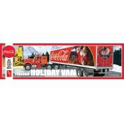 Fruehauf Holiday Hauler Semi Trailer (Coca-Cola) - NÃO INCLUI CAVALO MECÂNICO - 1/25 - AMT 1165