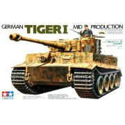 German Tiger I Mid Production - 1/35 - Tamiya 35194