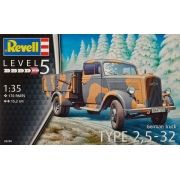 German Truck Type 2,5-32 - 1/35 - Revell 03250