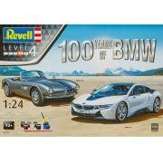 Gift-Set 100 anos da BMW - 1/24 - Revell 05738