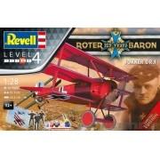 Gift-Set 125 anos do Barão Vermelho - 1/28 - Revell 05778