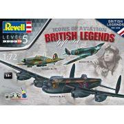 Gift Set British Legends - 3 kits - 1/72 - Revell 05696
