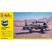 Gift Set NA T-28 Fennec/Trojan - 1/72 - Heller 56279