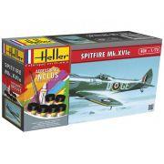 Gift Set Spitfire Mk.XVIe - 1/72 - Heller 56282