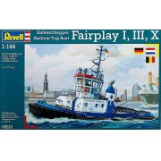 Harbour Tug Boat Fairplay I, III, X - 1/144 - Revell 05213